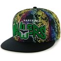 casquette-plate-multicolore-snapback-hartford-whalers-nhl-47-brand
