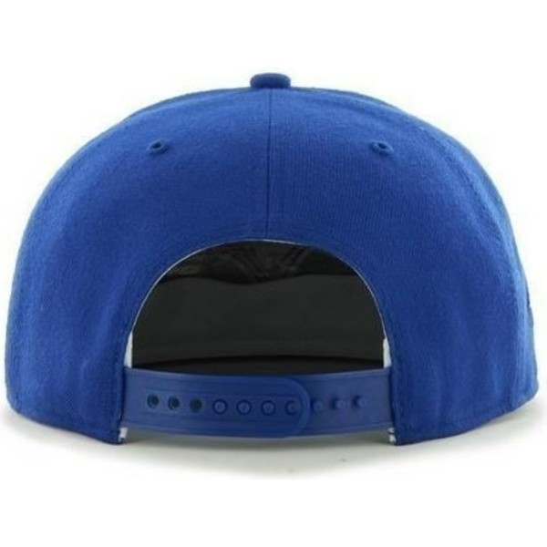 casquette-plate-bleue-snapback-unie-avec-logo-lateral-mlb-los-angeles-dodgers-47-brand