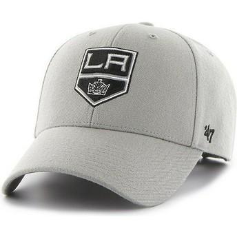 Casquette à visière courbée grise NHL Los Angeles Kings 47 Brand