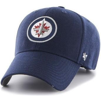 Casquette à visière courbée bleue marine NHL Winnipeg Jets 47 Brand