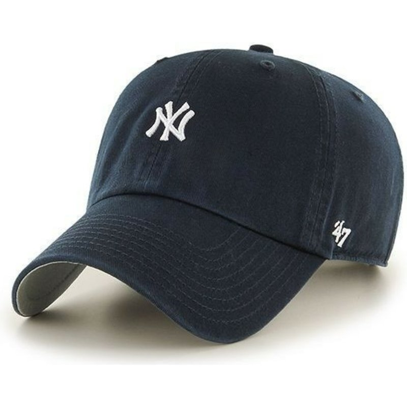 casquette-a-visiere-courbee-bleue-marine-avec-petit-logo-mlb-newyork-yankees-47-brand