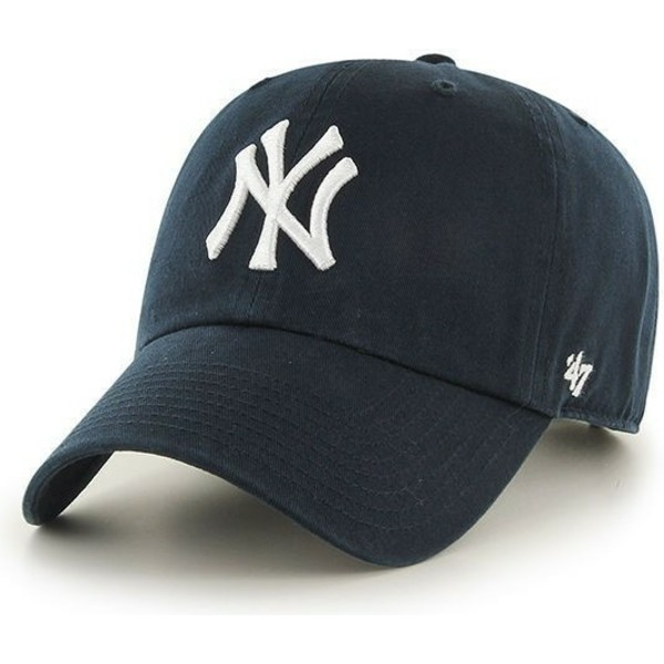 casquette-courbee-bleue-marine-pour-enfant-new-york-yankees-mlb-47-brand