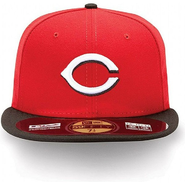 casquette-plate-rouge-ajustee-59fifty-authentic-on-field-cincinnati-reds-mlb-new-era