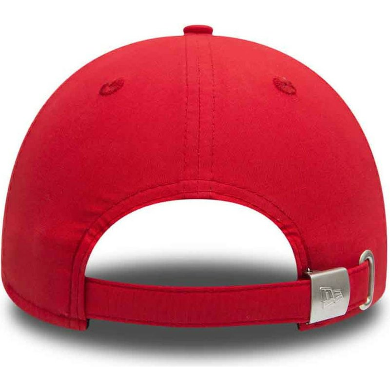 Casquette Courb 233 E Rouge Ajustable 9forty Flawless Logo New