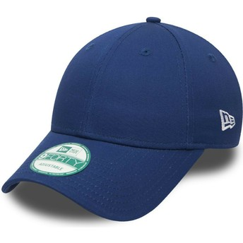 Casquette courbée bleue ajustable 9FORTY Basic Flag New Era