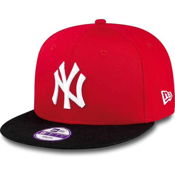 Yankees Mlb Rouge Casquette Cotton 9fifty Plate Era Pour