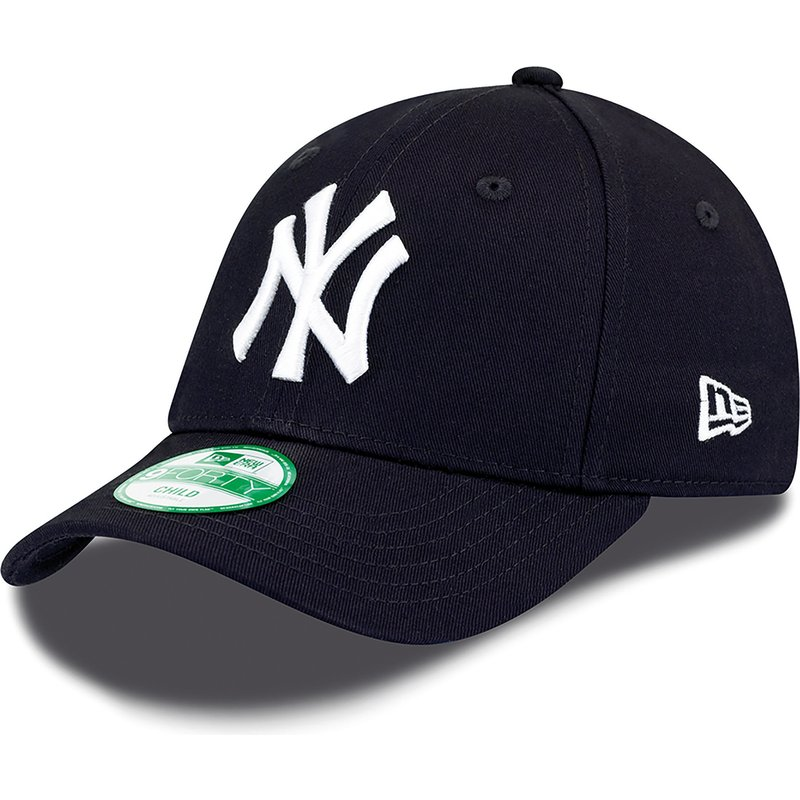 casquette-courbee-bleue-marine-ajustable-pour-enfant-9forty-essential-new-york-yankees-mlb-new-era